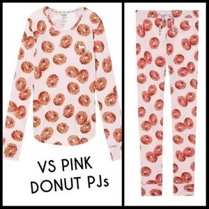 Victoria's Secret pink pajamas